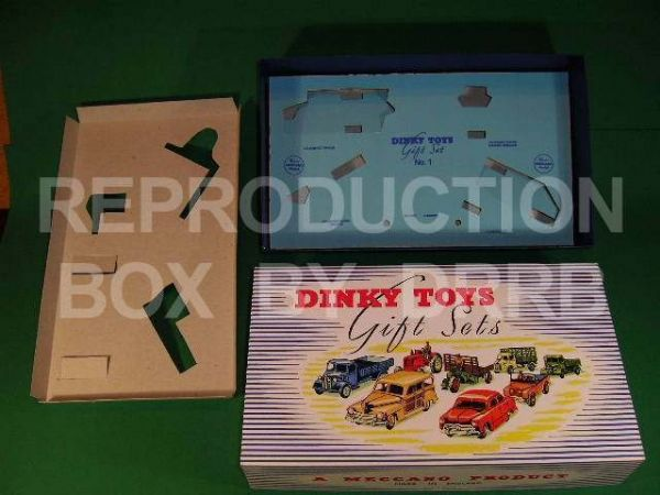 Dinky #398 (Gift Set 1) Farm Gear - Reproduction Box